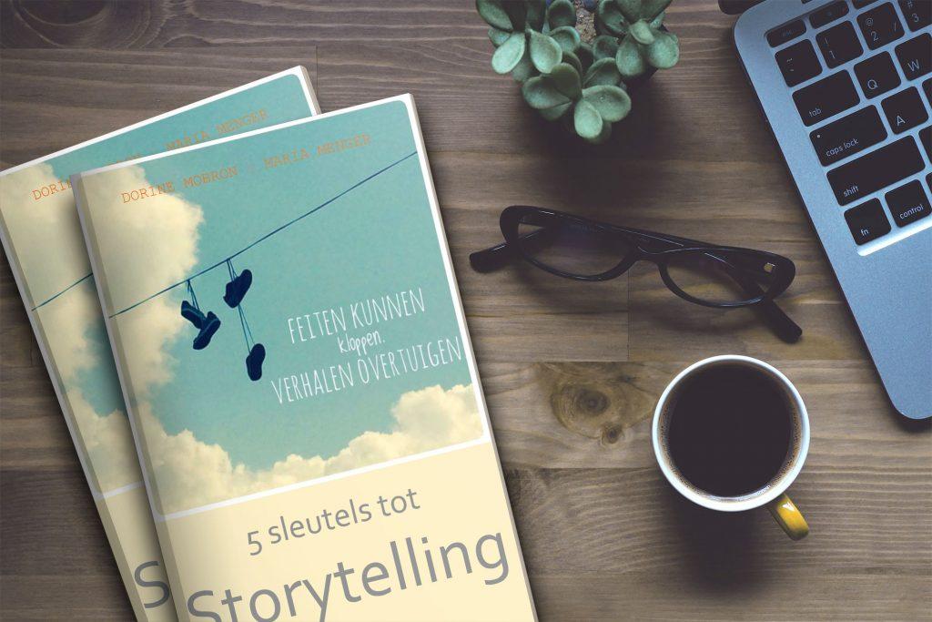 Foto van ebook 'Storytelling' door Dorine Mobron en Maria Menger