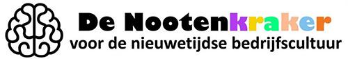 Logo van een partner van Dovision: De Nootenkraker, voor de Nieuwetijdse Bedrijfscultuur