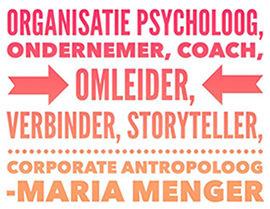Logo van een partner van Dovision: Maria Menger